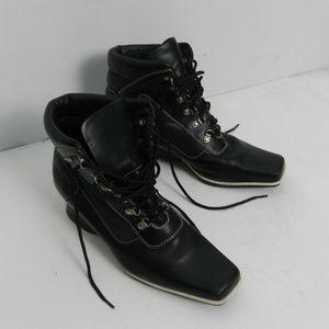 Timberlands Womens Square Toe Boot sz 10M b